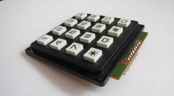 Arduino Matrice 4×4