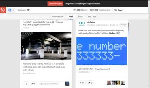 Ardufonino Google+